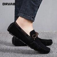 Мужские кожаные туфли, роскошные дизайнерские брендовые модные кроссовки на плоской подошве, слипоны, легкие Мокасины, серые, коричневые, ч...