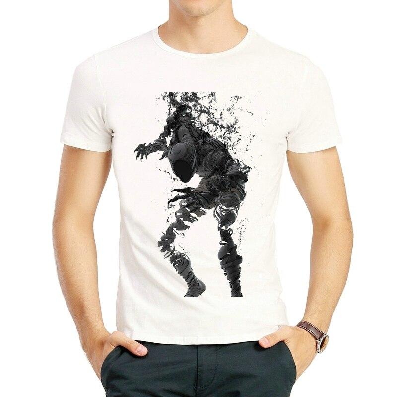 Camiseta de Anime japonés Ajin de moda de Color blanco para hombre de manga corta de dibujos animados Kei Nagai camiseta Top Tees camiseta Unisex ropa