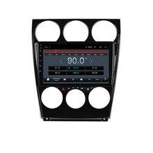"""9 """"4G LTE 안드로이드 10.1 For Mazda 6 2002 2003 2004 2005 2006 2007 2008 멀티미디어 차량용 DVD 플레이어 네비게이션 GPS 라디오"""