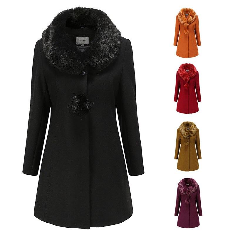 سترة فام 2021 الفراء فو معطف الفرو المرأة المنك الكشمير سليم صالح حجم كبير الصلبة كم طويل سميكة معطف دافئ سترة