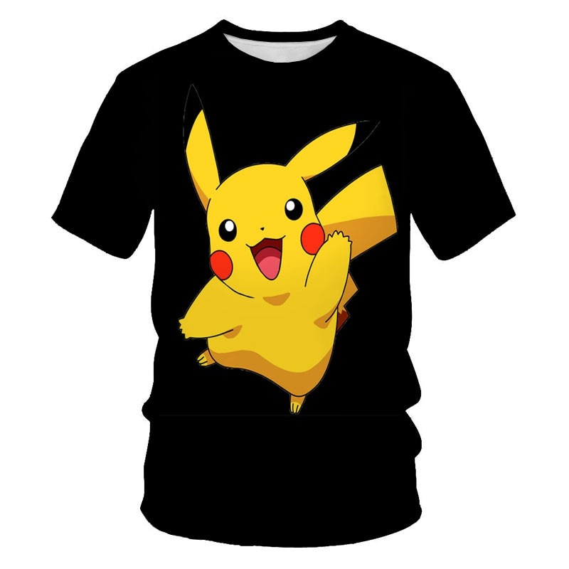 [Free Shipping] New summer Funny Anime 3D Printing Cool comfortable T-shirt Fashion Personality Casual Kids Parent-child T-shirt
