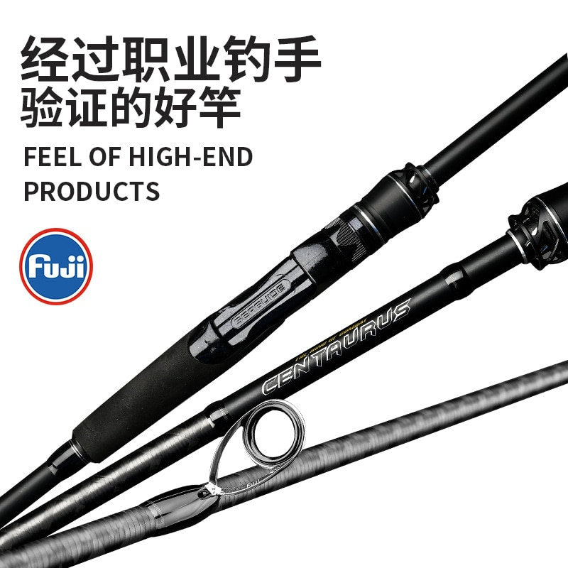 kuying o sprey 2 9m 3m shore jigging rods spinning lure fishing rod pole hard 2 sections carbon fiber fuji parts fast action Fuji High Carbon Sea Bass Octopus Fishing Rod Shore Jigging Rod Ocean Popping ML M MH Saltwater Spinning Casting Lure Boat Rods