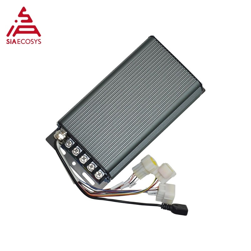 QSMotor New Arrival SiAECOSYS Programmable SIA7230 2000W-3000W Controller for Electric Bike enlarge
