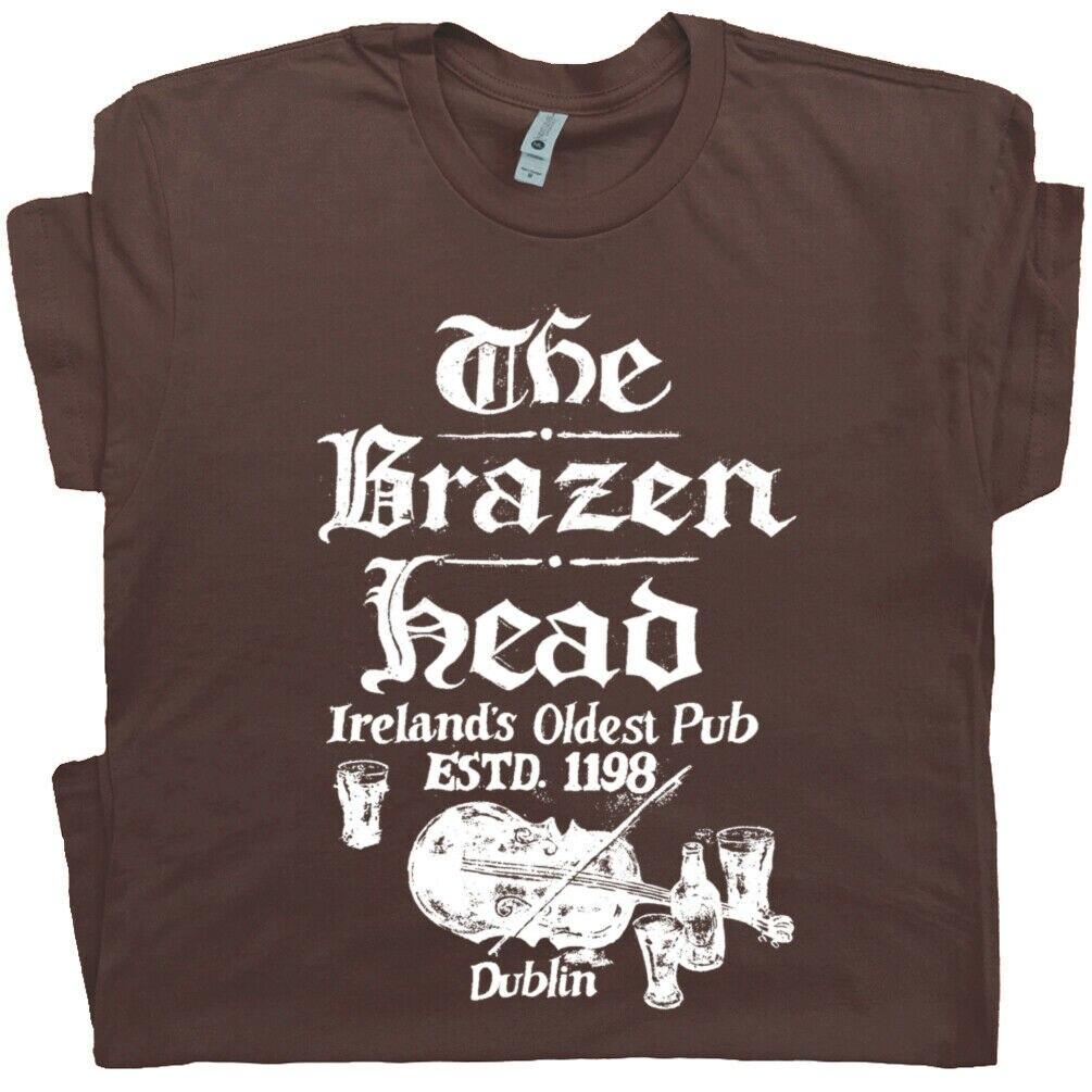 Dublin Irish Pub T Hemd Irland Dive Bar T Vintage Bier Grafik Kühlen Taverne