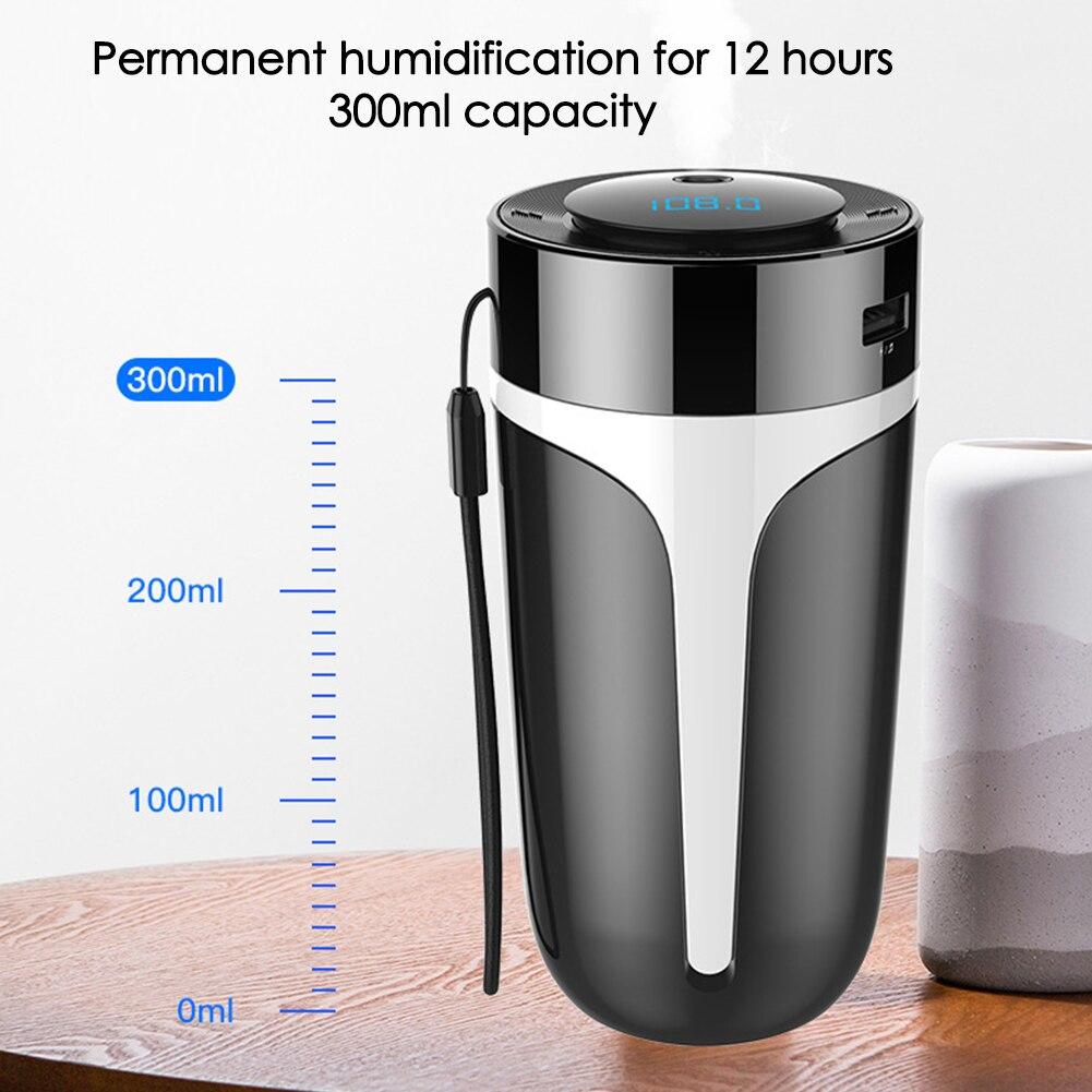S10 Автомобильный увлажнитель воздуха для дома и Bluetooth MP3 Смарт ароматерапия увлажнители воздуха, очиститель воздуха, освежитель воздуха для ...