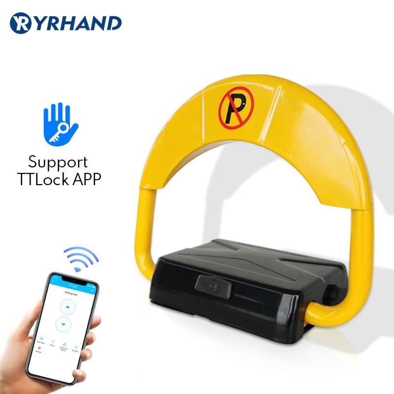 Promo Yrhand Bluetooth TTlock App Digital Parking Lock Steel Quality Smart Automatic Gateway Wifi Electronic Lock