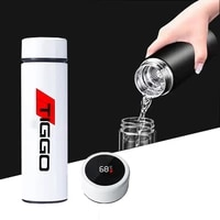 for chery fulwin qq tiggo 3 5 t11 a1 a3 a5 car accessories stainless temperature water display flasks thermoses coffee cup