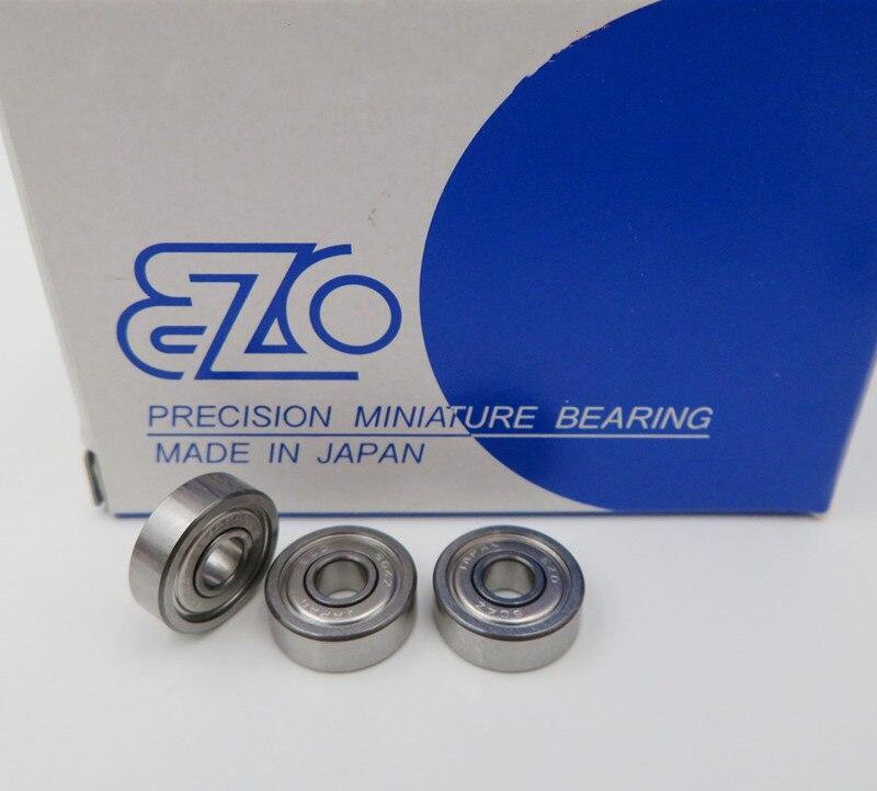 20 piezas/100 piezas Japón EZO de cojinetes de alta precisión de 604/605/606/607/608/609ZZ 608RS 4x12x4, 5x14x5 6x17x6 7x19x6 8x22x7, 9x24x7mm