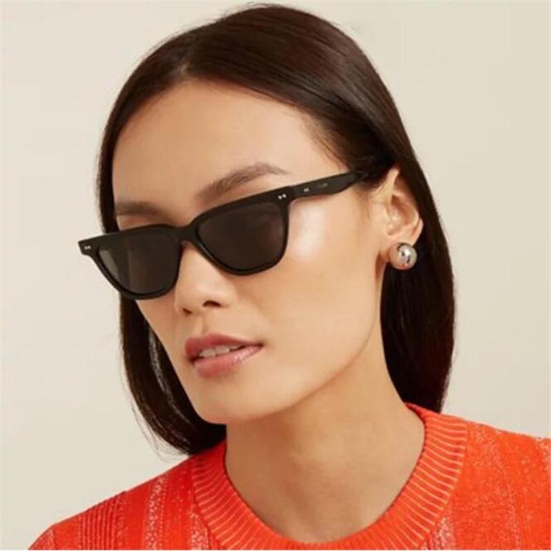 Cat Eye Sunglasses Women Men Fashion Square Unisex Wrap Frame Sun Glasses Sports Outdoor Shades Fema