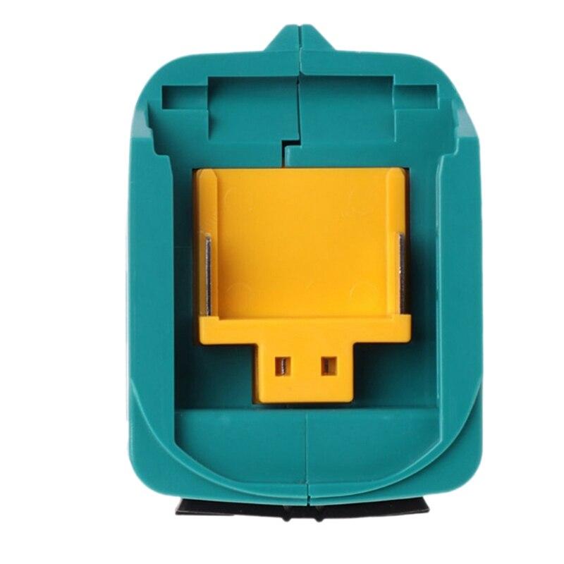 Adaptador de carga de alimentación Usb para Makita Adp05 Bl1815 Bl1830 Bl1840 Bl1850 1415 14,4-18V, batería de ion de litio azul