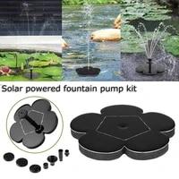 mini solar fountain 1 2w solar water fountain garden pool pond outdoor solar panel garden decoration jardin muebles