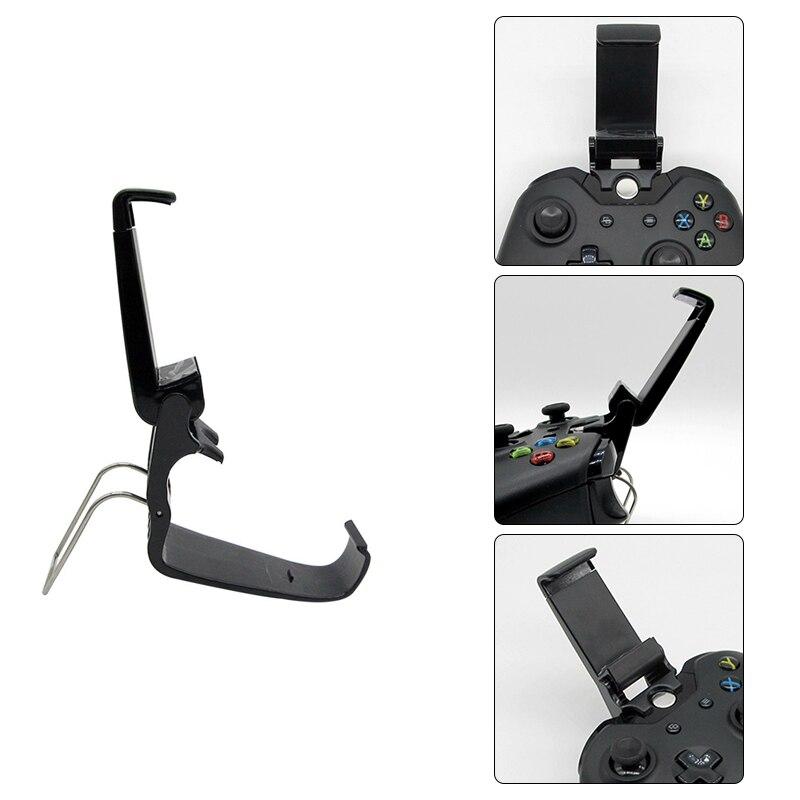 Para XBOX uno Universal soporte de montaje para teléfono móvil Gamepad soporte de atril con Clip de controlador de juego Accesorios