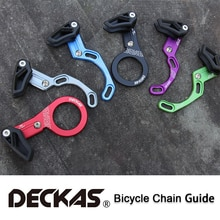 DECKAS 자전거 체인 가이드 MTB 자전거 체인 가이드 1X 시스템 ISCG03/ISCG05/BB 마운트 CNC 단일 속도 와이드 좁은 기어 체인 가이드