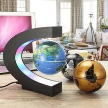 Floating Magnetic Levitation Globe LED World Map Electronic Antigravity Lamp Gift Light Home Decorat