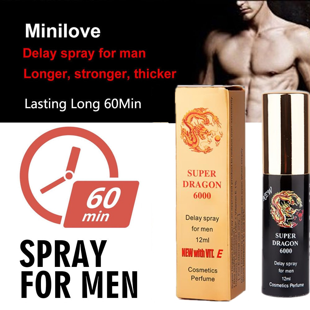Super Dragon Male 6000 Delay Spray Local Penis Extension Time Lubricant Appeal Thickening Cream