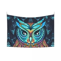 mandala animal tapestry colorful tapestry wall hanging hippie tapestry dormitory decorative blanket 152x102 cm