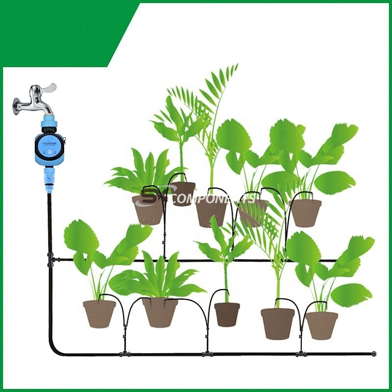 Intelligent drip irrigation work WIFI Smart watering valve  with  phone remote controller Diverse timing enlarge