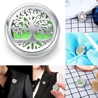 aromatherapy jewelry for women men kid gift cufflink brooch essential oil diffuser clip for boobs aroma locket magnetic buckle
