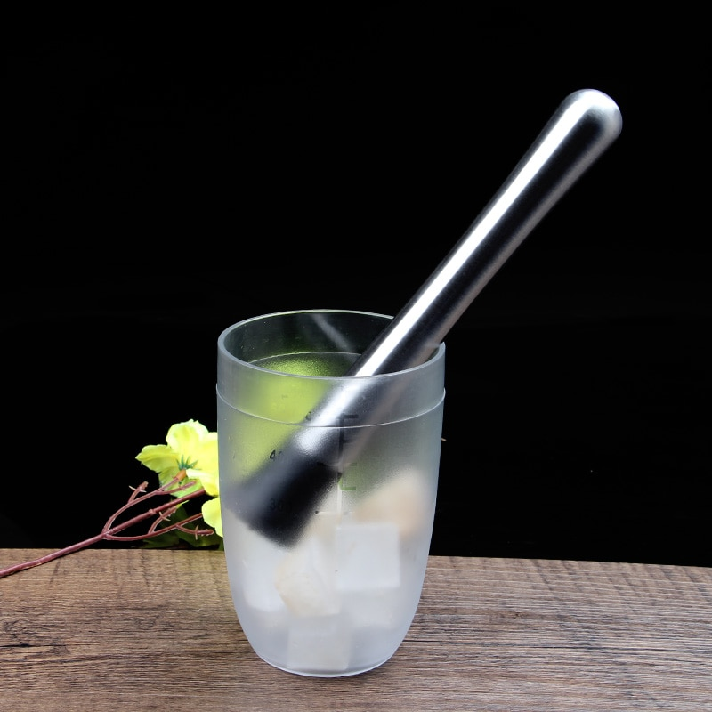 Acero inoxidable limón fruta mudddler cóctel triturador de hielo martillo DIY bebida bar mezclador Accesorios de Vino