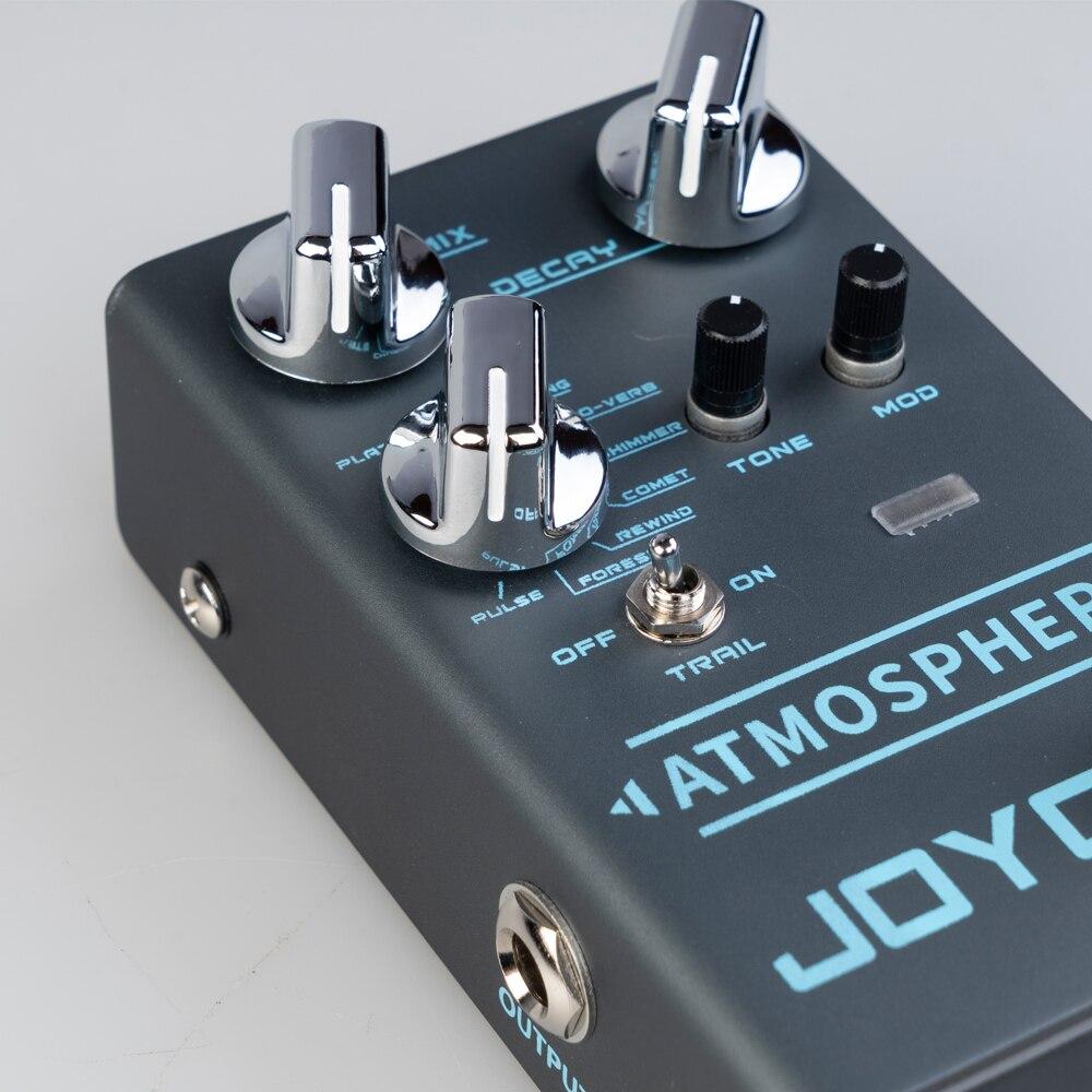 Joyo R-14 Atmosphere Reverb Electric Pedal Bass Volume Multi-Effects Reverb Musical Electric Guitar Pedal Pedaleira De Guitarra enlarge