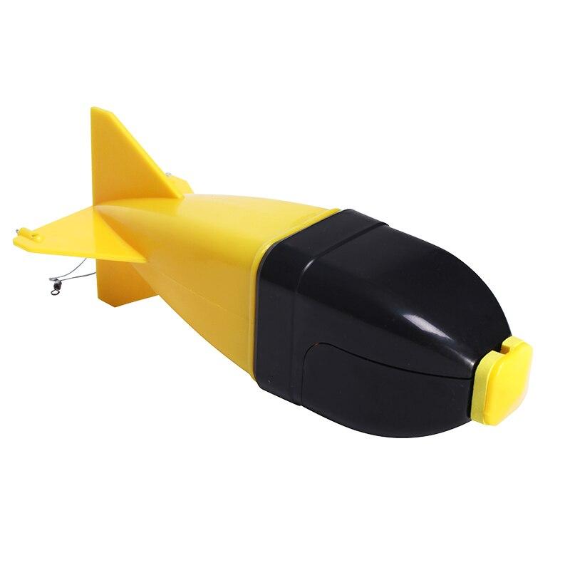 Nuevo 5 colores 170MM alimentadores de carpa abordar pesca herramienta de Spod pesca cohetes bomba titular flotar cebo de alimentadores grandes Accesorios