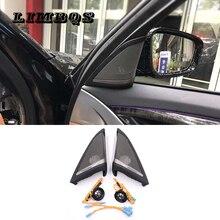 Tweeters de alta qualidade porta lateral para BMW 5 g30 series cabeça trombeta porta de áudio alto-falantes de agudos material ABS fácil instalação
