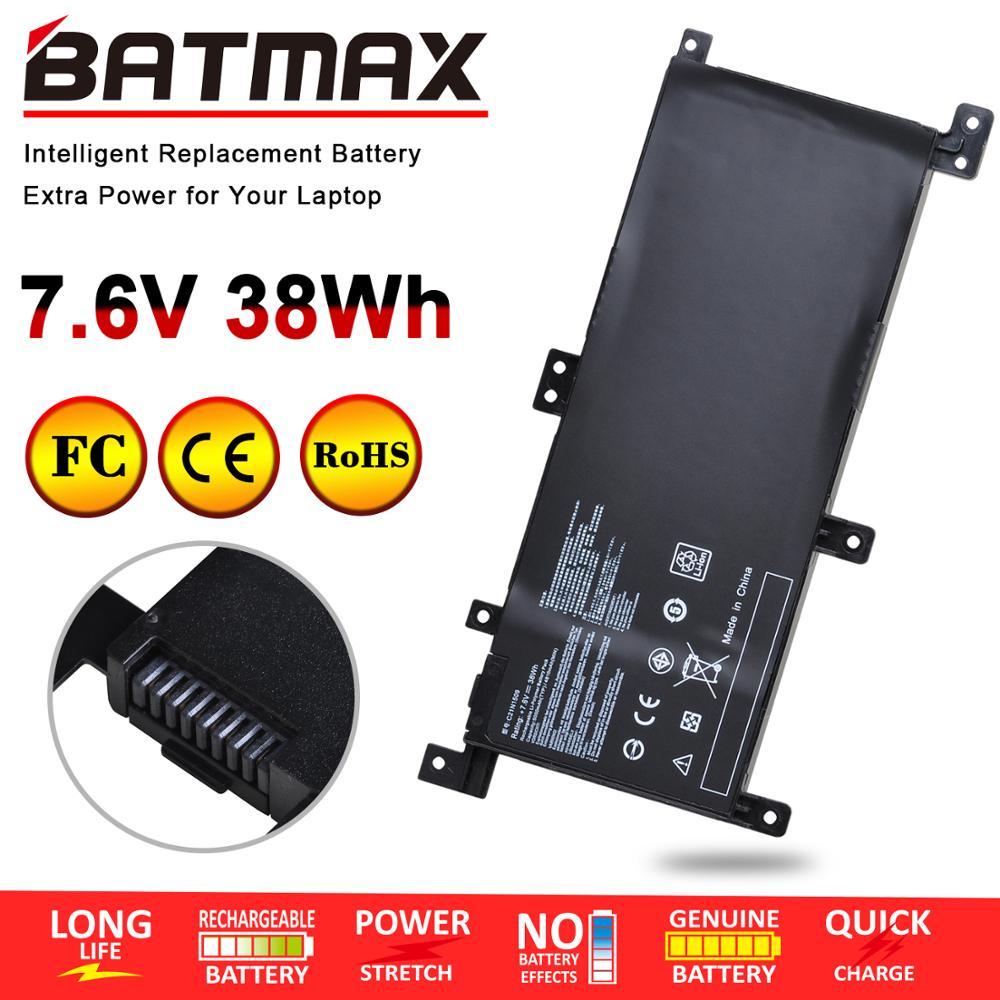7,6 V 38Wh C21N1509 batería del ordenador portátil para ASUS Vivobook X556UA X556UB X556UF X556UJ X556UQ X556UQK X556UR X556UV F556U F556UA F556UB