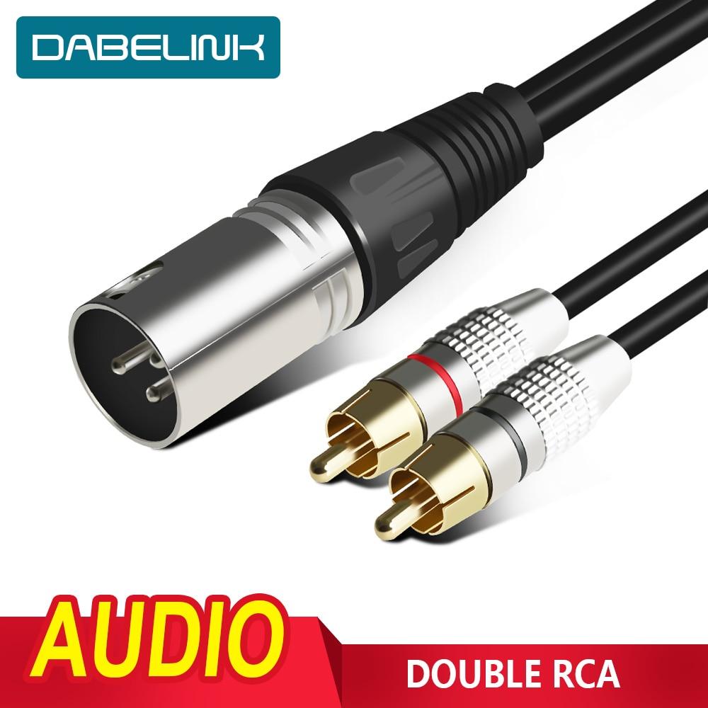 XLR a RCA Cable RCA macho a XLR Cable hembra de cañón...