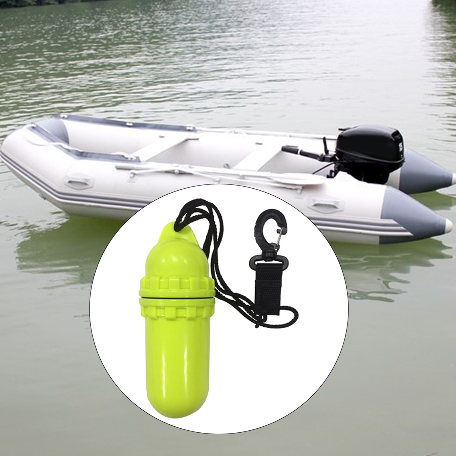 Floating Waterproof Dry Bag Gear Case for Kayaking,Rafting,Boating,Swimming
