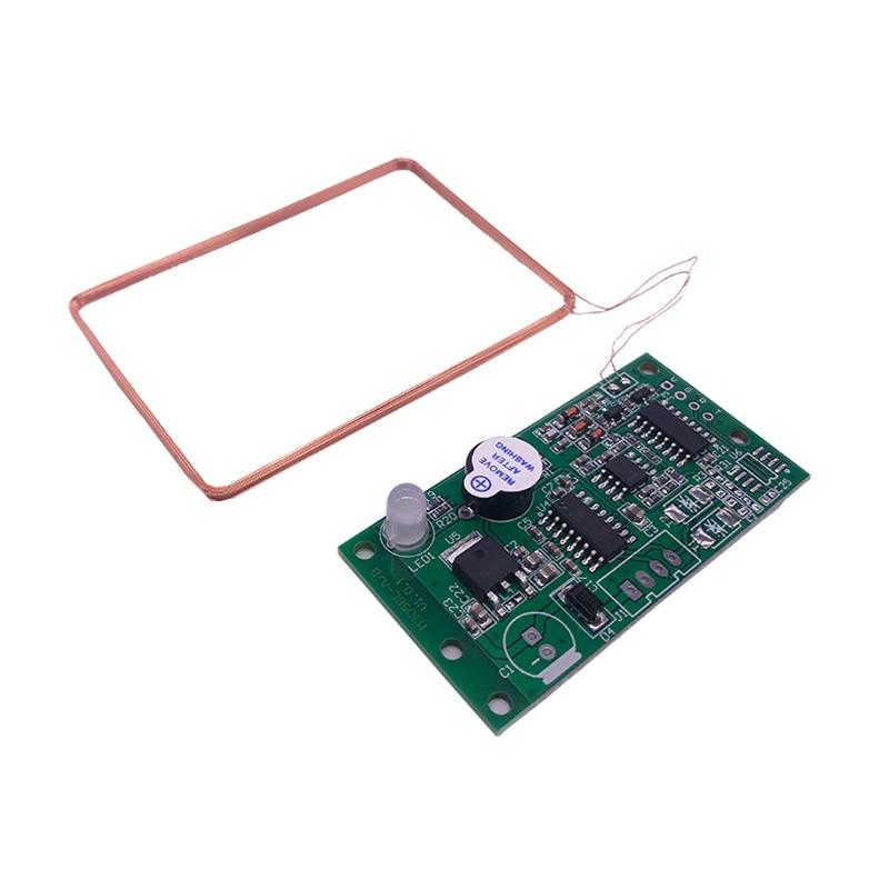 Leitor de cartão de identificação 125 khz módulo de leitura de baixa frequência da cabeça de leitura do cartão rfid swiping cartão de indução rf porta serial rs232rs485