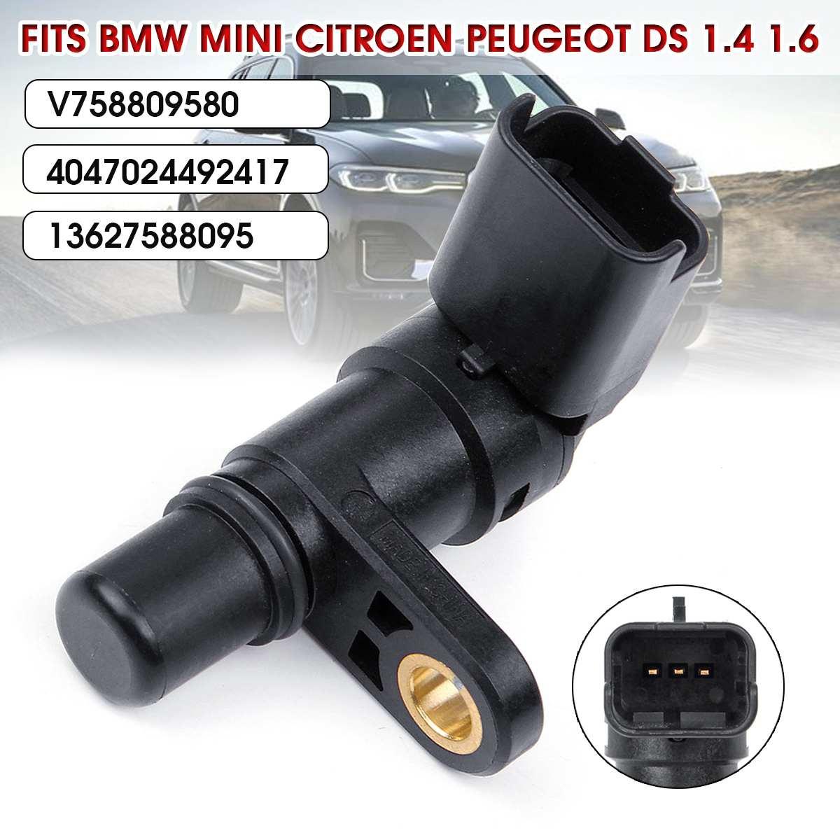 Coche sensor de posición de árbol de levas para BMW Mini Cirtoen Peugeot DS 1,4 de 1,6 de 13627588095 V758809580 13627566052