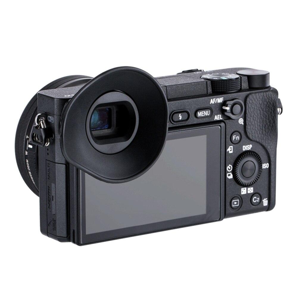 Peças mini simples 360 graus girar grande capa câmera eyeup mais claro estável silicone macio ao ar livre para sony a6000 a6300 NEX-7