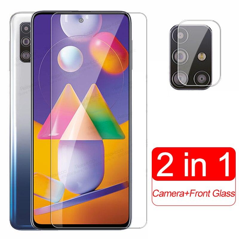 For samsung M31S Glass Camera Lens Tempered Glass For Samsung Galaxy M31 S M 31S 31 M315F M317F Scre