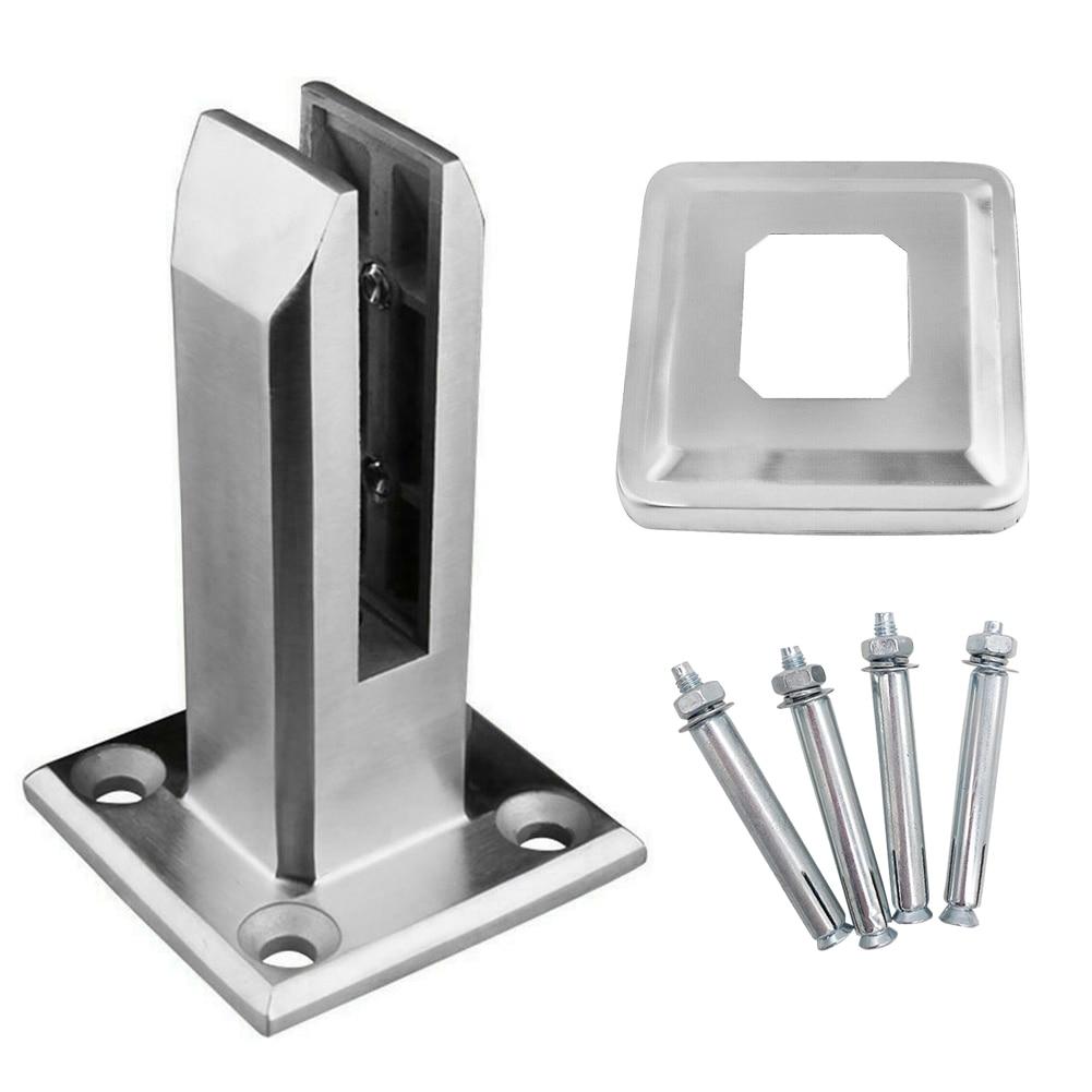 الثقيلة الفولاذ المقاوم للصدأ سياج بركة الزجاج كليب الطابق الزجاج حامل تركيبات ثابتة المشبك BENL889