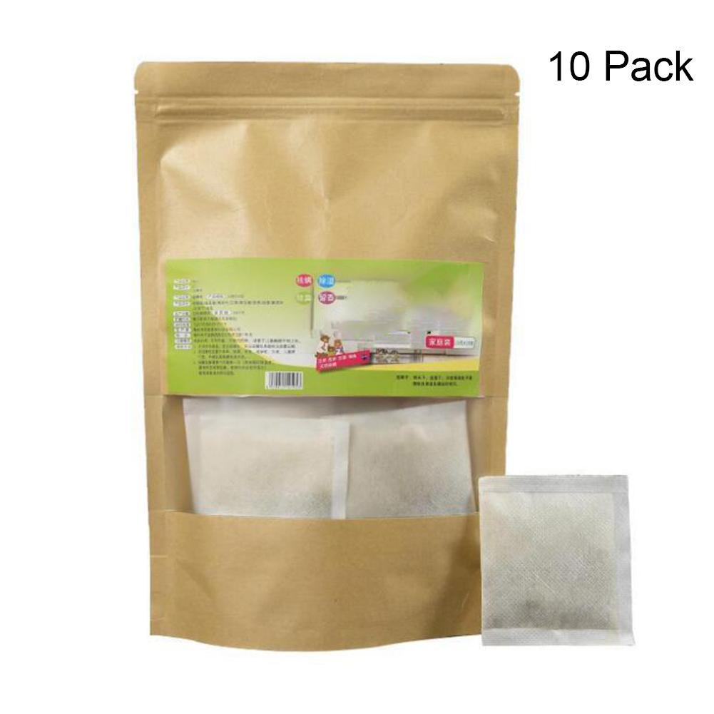 10 bolsas de ácaros naturales ácido cítrico Extracto de plantas naturales almohadilla antiácaros no tóxica para cama almohada sofá limpiador polvo hogar
