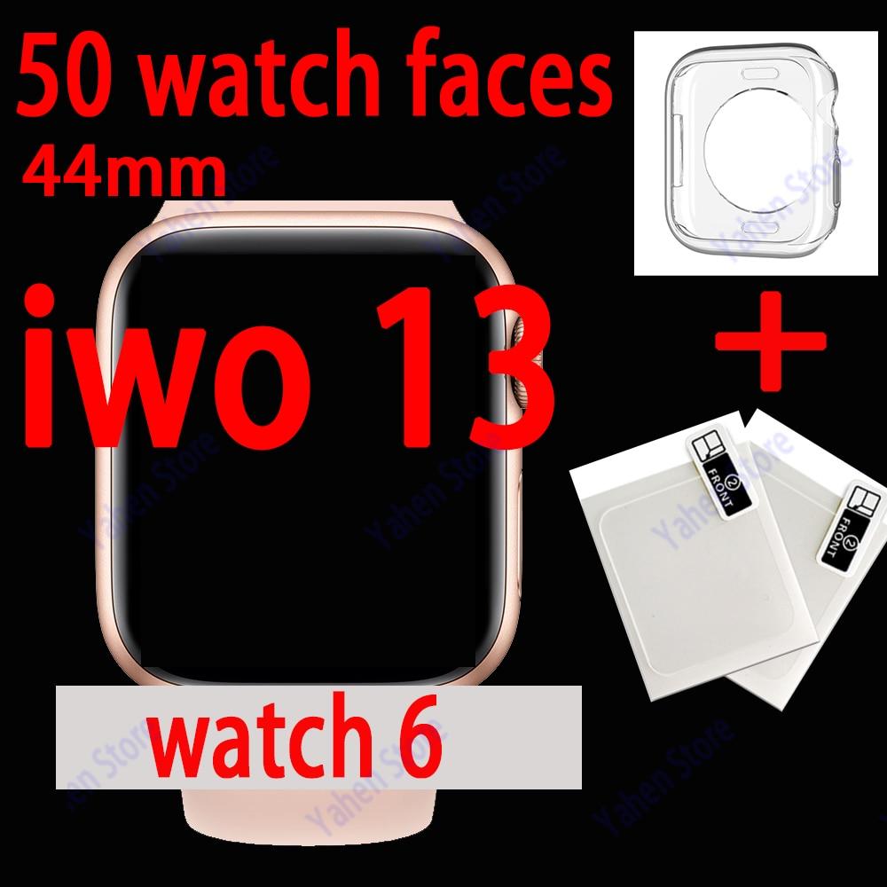 Iwo 13 Смарт-часы 44 мм серия 6 Bluetooth Вызов Smartwatch iwo13 для IOS Android телефон сердечного ритма PK IWO MAX 13 P8 iwo 12 pro