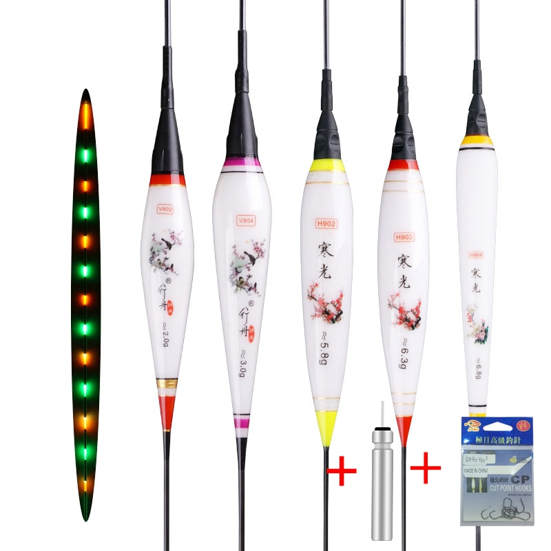 Nuevo de Pesca luminosa flota de Nano de corcho de Pesca de...