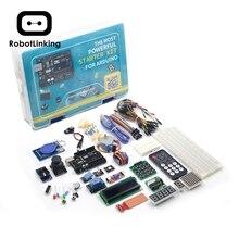 UNO مشروع سوبر كاتب عدة مع البرنامج التعليمي ، UNO R3 لوحة تحكم ، أجهزة ، محرك متدرج ، التتابع الخ لمشاريع اردوينو 2019