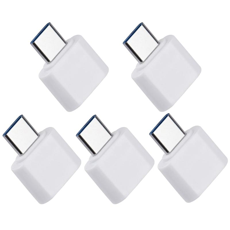 5pcs USB 3,0 tipo-C OTG adaptador de Cable tipo C USB-C convertidor...