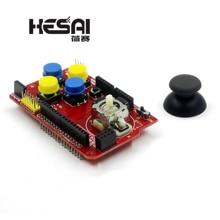 Щит джойстика Плата расширения аналоговая клавиатура и функция мыши щит джойстика V1.2 для arduino DIY Kit