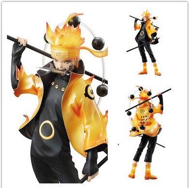 Nuevo 22cm Naruto Uzumaki Naruto Rikudousennin Modo de acción del Anime brinquedos juguetes de modelos de colección regalo