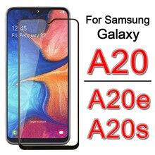 Glass on For Samsung A20s A20e A20 e s Screen Protector For sam Galaxy a 20s 20e 20 SM-A202F Tempere