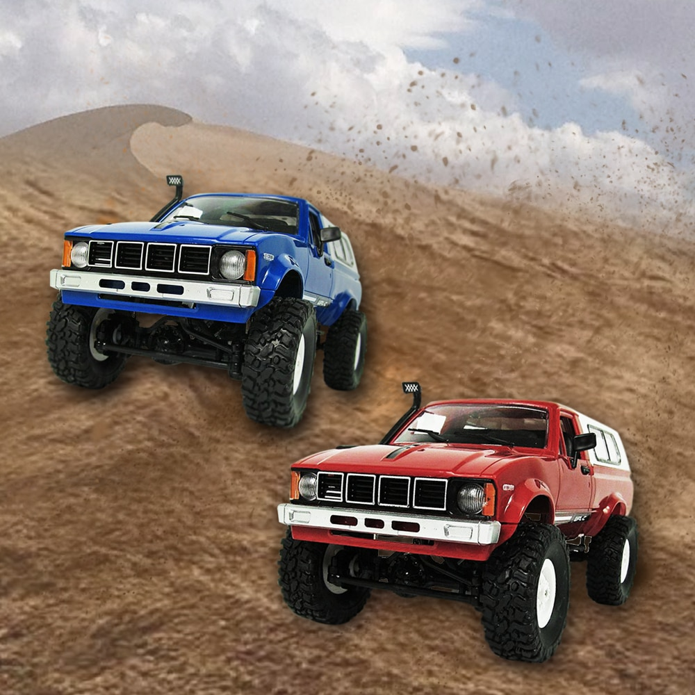 WPL C-24 1/16 Scale RC Car Rock Crawler 4WD Off-road Truck Best Toy