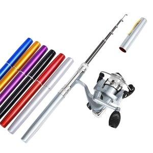 Separate fishing rod link    Pen mini fishing rod