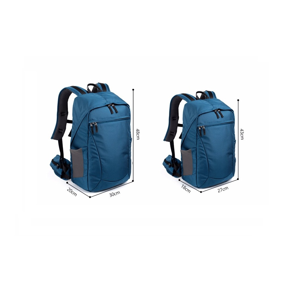 Professional Camera Backpacks Water-resistant Large Capacity Bag Anti-theft DSLR Lens Tripod Outdoor Travel Bag for Men Women enlarge