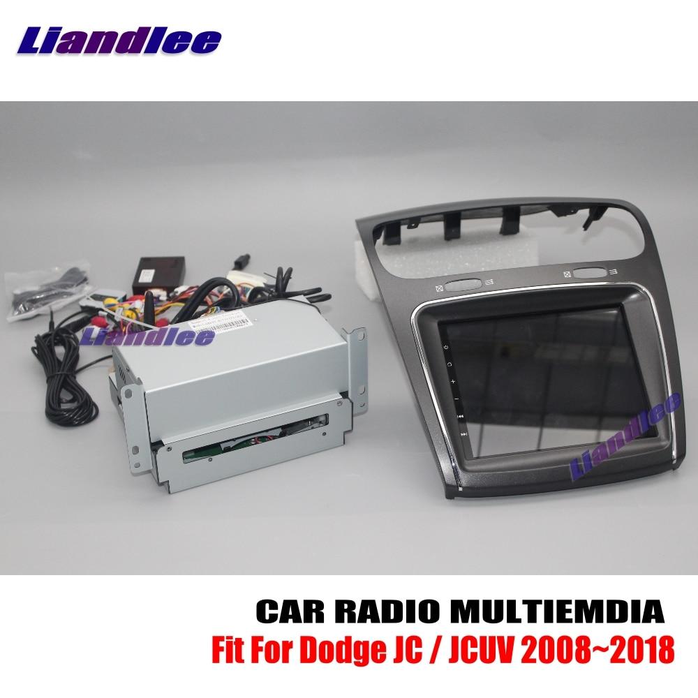 Carro android multimídia para dodge jcuv/jc 2008 ~ 2015 2016 2017 2018 rádio estéreo do carro cd dvd player gps sistema de navegação tela hd