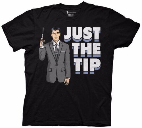 Camiseta para adultos con licencia de Tip Just The Tip