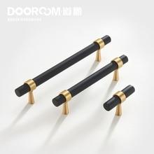 Dooroom poignées de meubles en laiton t-bar   Mode de luxe, noir or armoire commode, armoire placard tiroirs