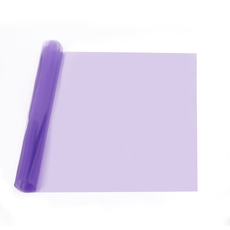 Impermeable púrpura coche humo faro antiniebla lámpara tinte adhesivo película de vinilo 150*30cm