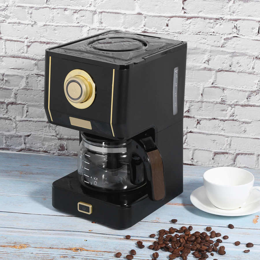 Drip Coffee Maker with Coffee Pot Adjustable Automatic Filter Coffee Machine for Home Office Household Appliances AU 220V